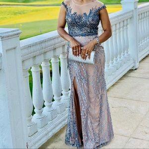Prom dress, Cinderella divine size 4